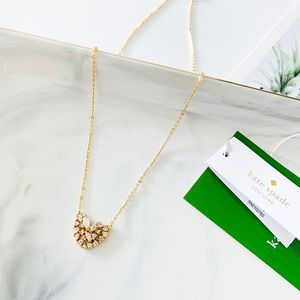 ❗️LAST 1❗️Kate Spade Heritage Pave Heart Necklace